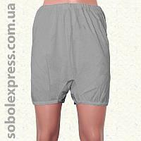 Панталоны женские летние короткие серые