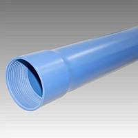 Труба обсадная нПВХ для скважины 125 мм (6,5мм) длина 3м