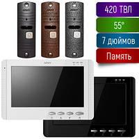 Комплект видеодомофона с памятью Arny AVD-709M+AVP-05