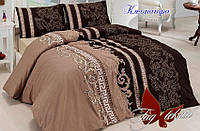 Комплект постельного белья ранфорс Тм Таg полуторный размер kleopatra