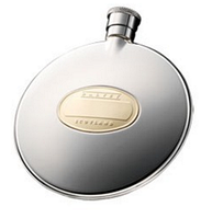 Компактная круглая фляга для алкоголя GP  (G422) 75мл. Dalvey D00444.