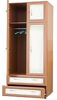Шкаф для одежды с шухлядами В1 Злата