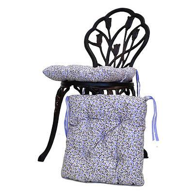 Подушка на стул Лаванда цветы