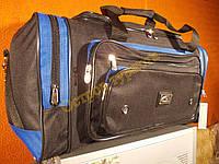 Сумка дорожная MagDa A9 чено-синяя