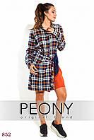 Платье Тиват (52 размер, теракотовый) ТМ «PEONY»