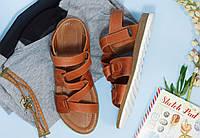 Женские босоножки - сандалии на пробковой подошве,