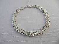 Серебряный браслет VERSACE весом от 13 до 19 грамм, фото 1