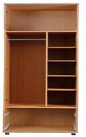 Шкаф для одежды(полки,релинг) С1 Злата