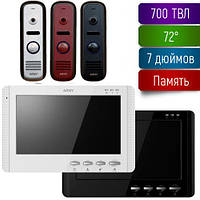 Комплект видеодомофона с памятью Arny AVD-709M+AVP-NG110