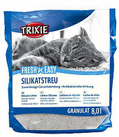 "Trixie TX- 4026 Наполнитель ""Fresh and Easy granules"" силикагель 5л ,Гранулы до 5 мм в диаметре"