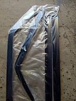 Дефлектор Дверей (ветровик) 2102-04 Voron на скотче 4шт.