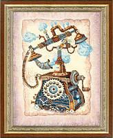 Набор для частичной вышивки крестом Ожидание звонка