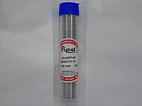 Припой в трубці CYNEL Sn60 Pb40,sw 26-3/2.5% 1mm 16gr 3 метр
