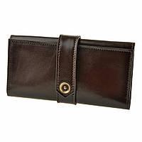 Кожаное портмоне 3.0 Шоколад. Ручная работа