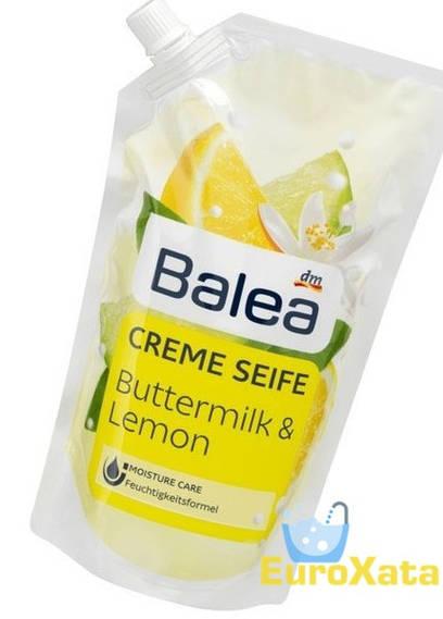 Крем-мыло (запаска) Balea Buttermilk & Lemon (500мл)