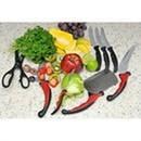 Ножі кухонні Контур Про (9 шт+ножиці), фото 1