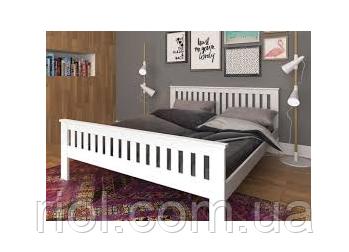 Кровать двуспальная Жасмин из массива бука