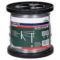 Проволока стальная оцинкованная 1,2 мм для электроизгороди (500 м на катушке)