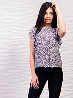 Легкая летняя блуза из шифона