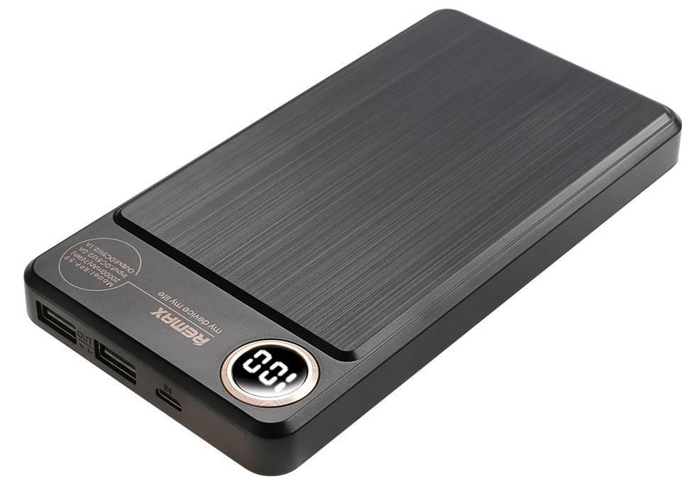 PowerBank Remax Kooker 20000mAh black