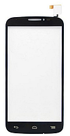 Сенсор (Touch screen) Alcatel 7040D/ 7041D One Touch Pop C7 черный