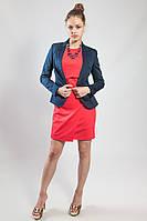 Пиджак-жакет женский  темно-синий  Rinascimento