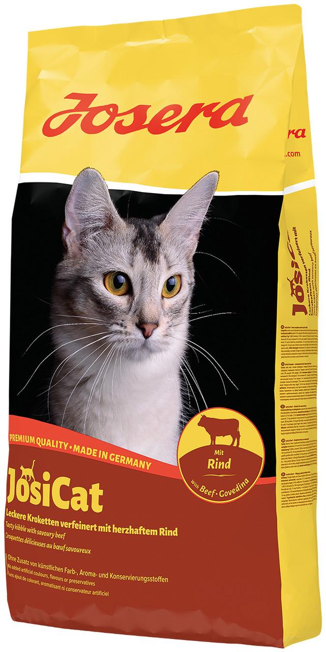 Josera JOSICAT Beef 10 кг - корм для кошек с говядиной