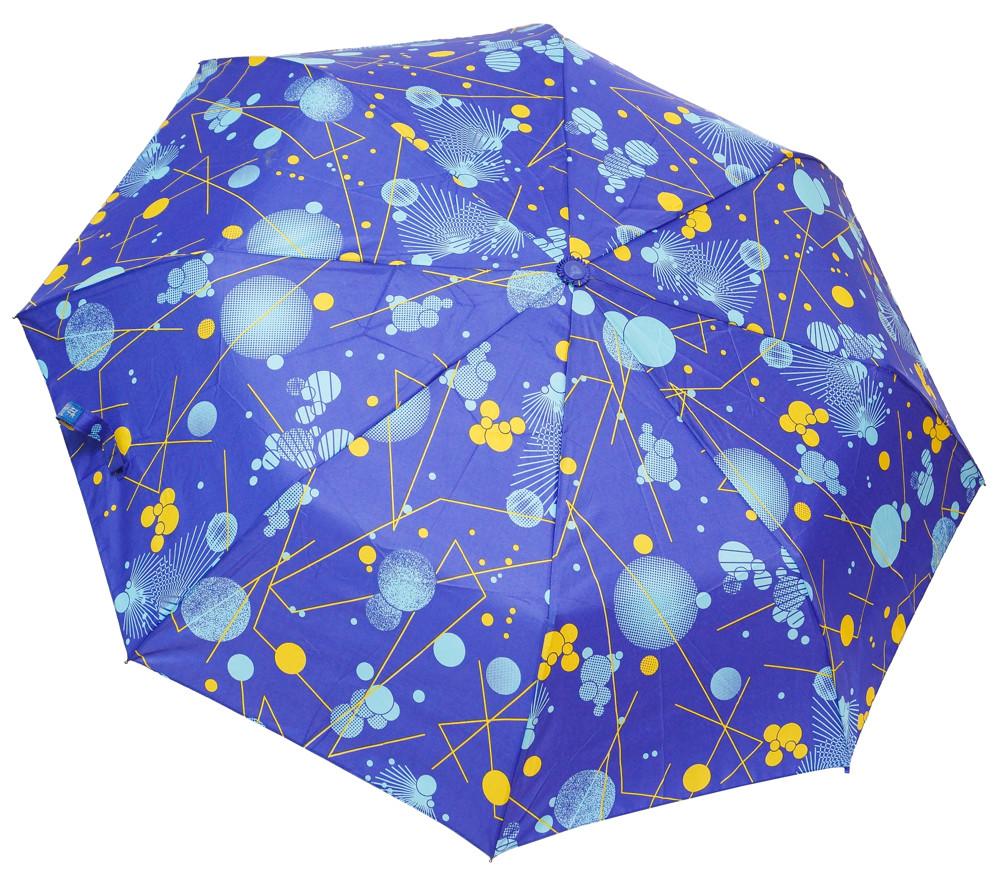 Модный женский зонт REF2502 blue