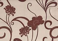 Мебельная ткань Лима крем  велюр (производство Мебтекс)