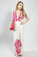 Платье-сарафан в пол летнее  пляжное оригинальное Snake Milano