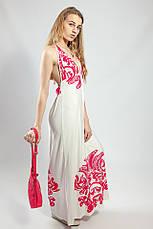 Женское платье-сарафан в пол летнее  пляжное оригинальное Snake Milano, фото 3