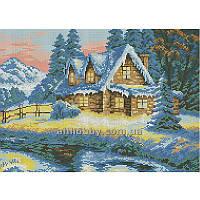 Схема для вышивания бисером Зимний вечер БИС3-78 (А3)