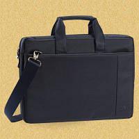 """Классическая сумка для нетбука riva case 8211 blue 10"""" с ремнем на плечо"""