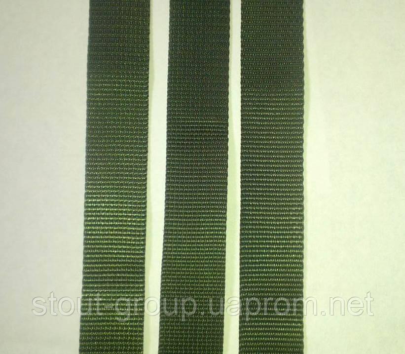 Лента ременная полиамидная 25 мм плотная