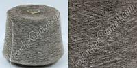 ECAFIL  VIRGINIA мохер коричнево-серый мягенький с меланжиком на бобине