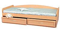 Кровать с ящиками на роликах Злата
