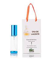 Женский парфюм в подарочной упаковке Eau de Lacoste Lacoste 35 мл