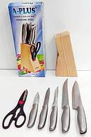 Набор кухонных ножей А-Плюс 1006 метал.