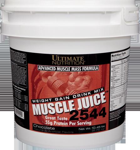 Гейнер Muscle Juice 2544 (4,75 кг) Ultimate Nutrition