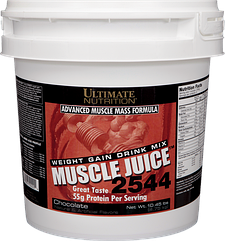 Гейнер Muscle Juice 2544 (6 кг) Ultimate Nutrition