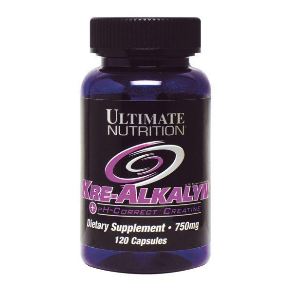 Креатин Kre-Alkalyn (120 капс.) Ultimate Nutrition