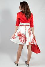 Женское платье-сарафан летнее  на бретелях Rinascimento коттоновый белый, XL, фото 3