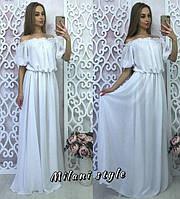 Женское шикарное длинное платье МСХ 221