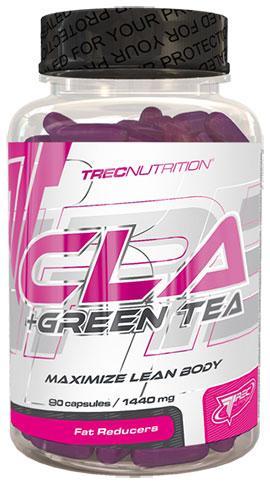 Жиросжигатель CLA+Green tea (90 капс.) Trec Nutrition