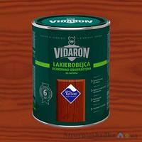 Цветная Дерево-защита Лак Vidaron Lakierobejca L13 Красный кедр 9л Видарон Лакобейц Глянец