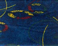 Ткань автомобильная BUS 6 DESIGN-BLUE YELLOW (Производитель Bibtex)