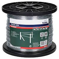 Проволока стальная оцинкованная 1,2 мм для электропастуха (1000 м на катушке)