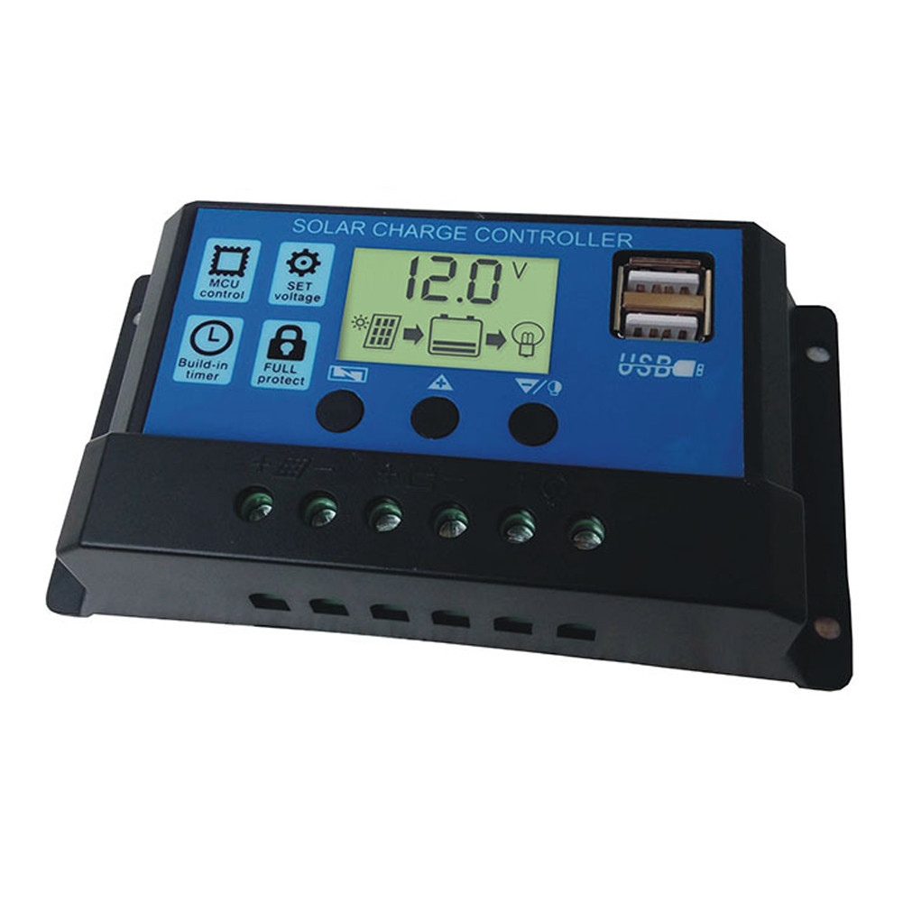 Контролер заряду KW1230 з 2USB портами (30А 12\24В)
