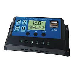 Контроллер заряда KW1230 c 2USB портами (30А 12\24В)