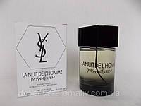 Тестер Туалетная вода Yves Saint Lauren La Nuit De L'Homme 100мл
